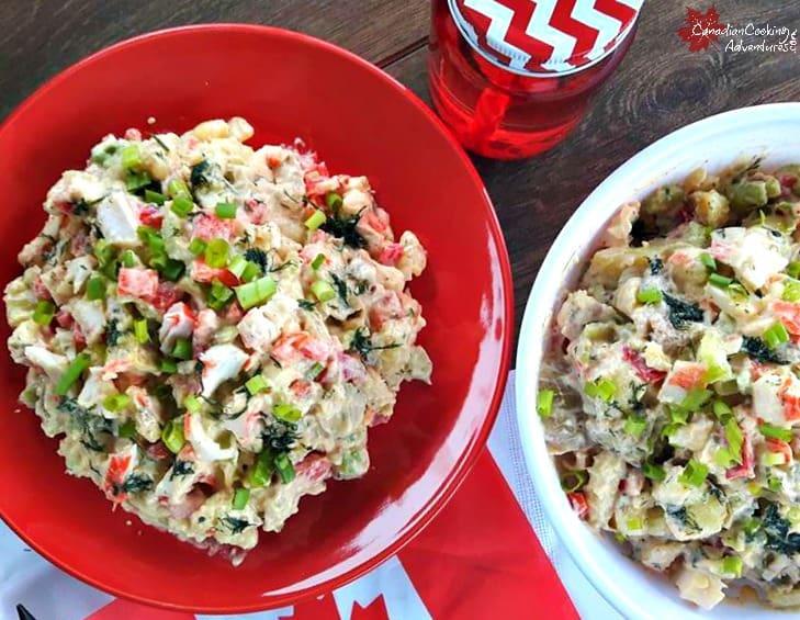 Crab Potato Salad