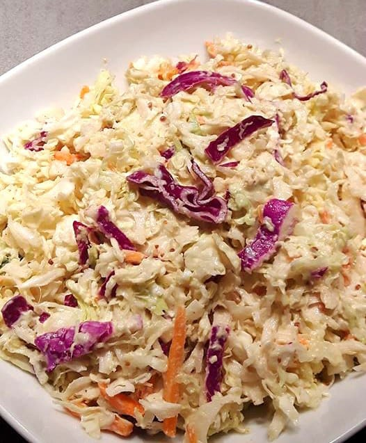Light and Tangy Coleslaw