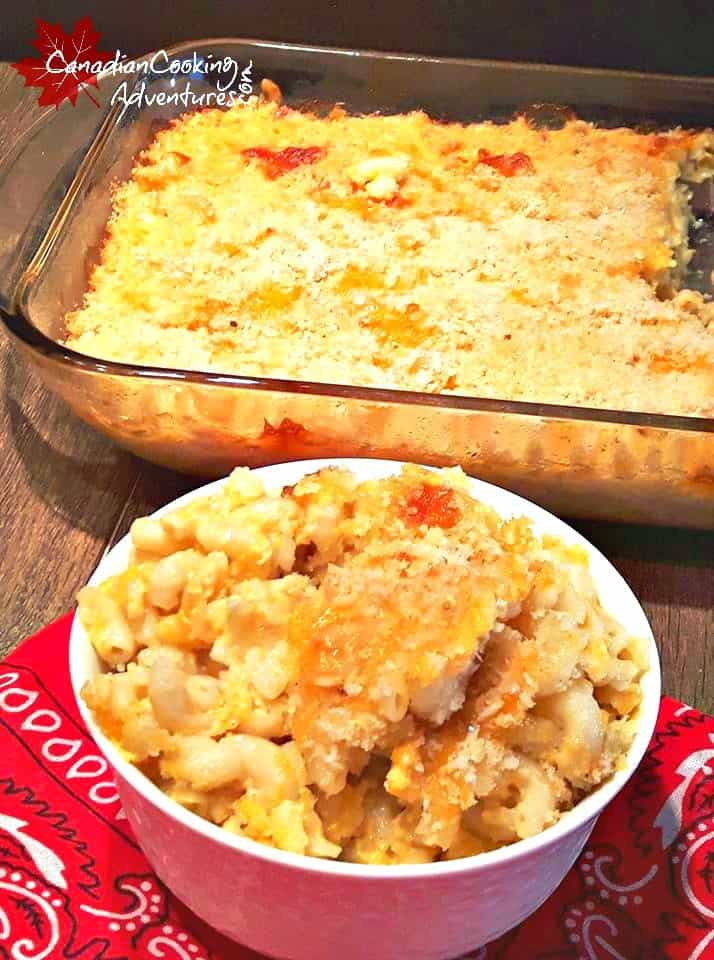 Baked Old Fashioned Macaroni and Cheese