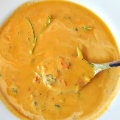 Creamy Cashew Butternut Squash Soup