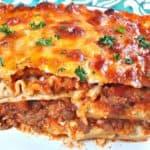 Beef and Cheese Lasagna
