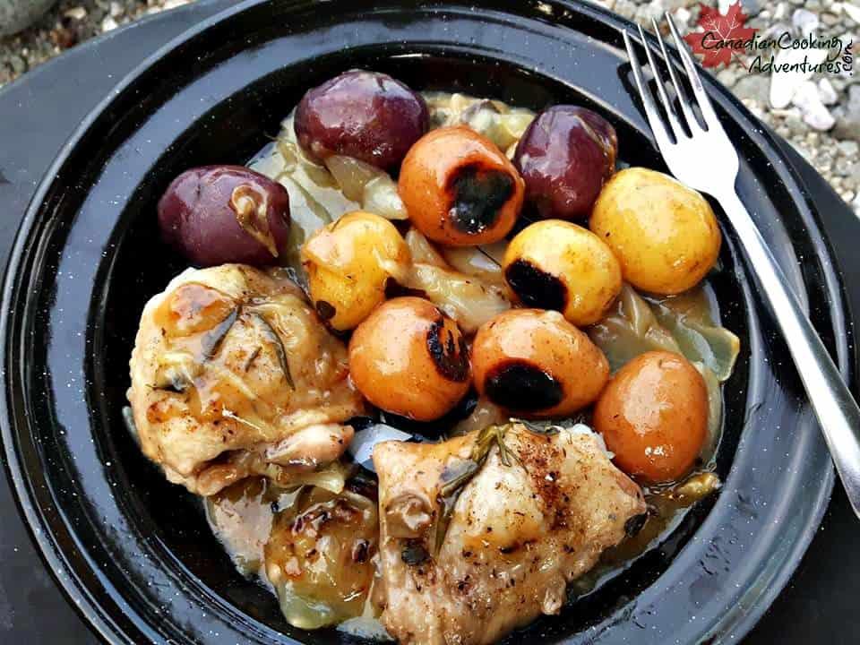 Cremini & Shiitake Mushroom Chicken Stew