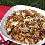 Canadian Wild Rice and Turkey Casserole