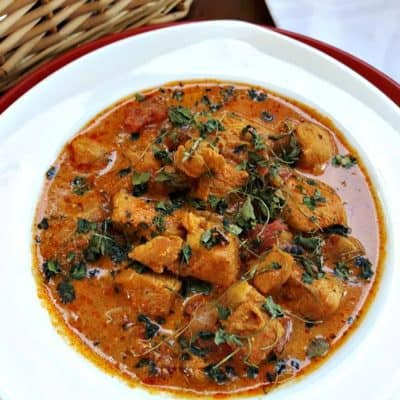 Chicken Karahi in a bowl