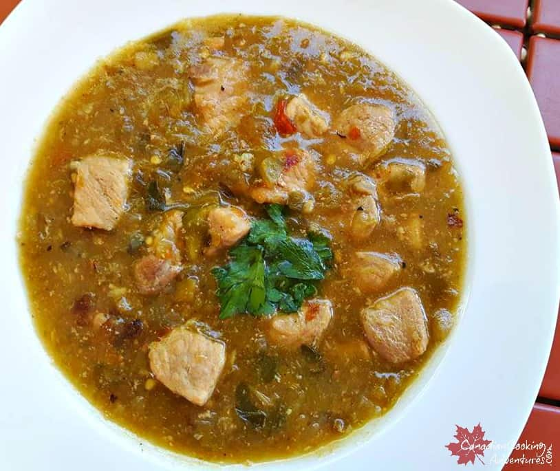 Simple yet Authentic Green Chile Stew (Chili Verde)