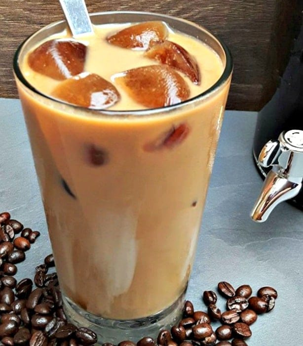 Homemade Iced Lattes