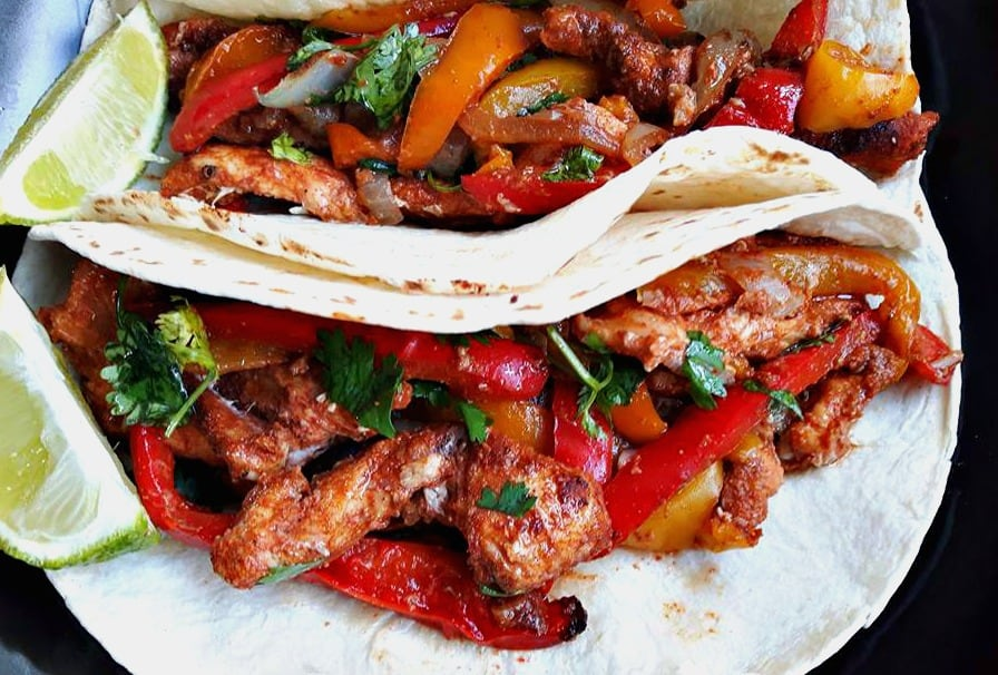 Easy one pan chicken fajitas forumfinder Choice Image