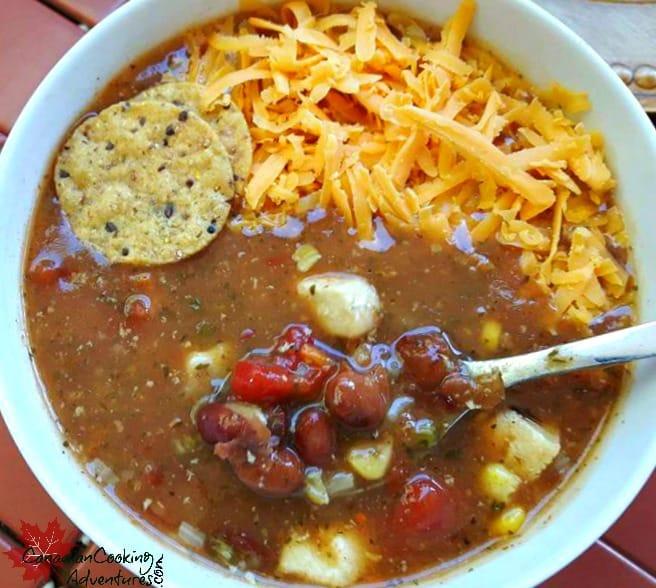 Chicken Fajita Tortilla Soup