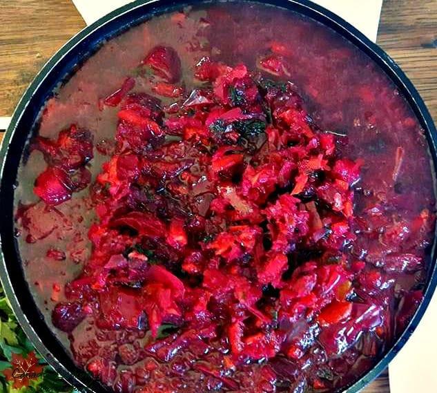 Ruby Red Ukrainian Borscht (Красный Борщ)