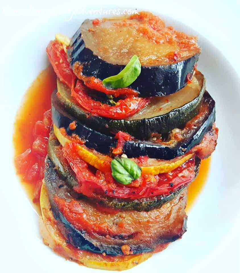 Easy Pizza Ratatouille