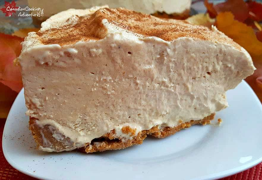 Recipe for Frozen Pumpkin Spiced Cheesecake