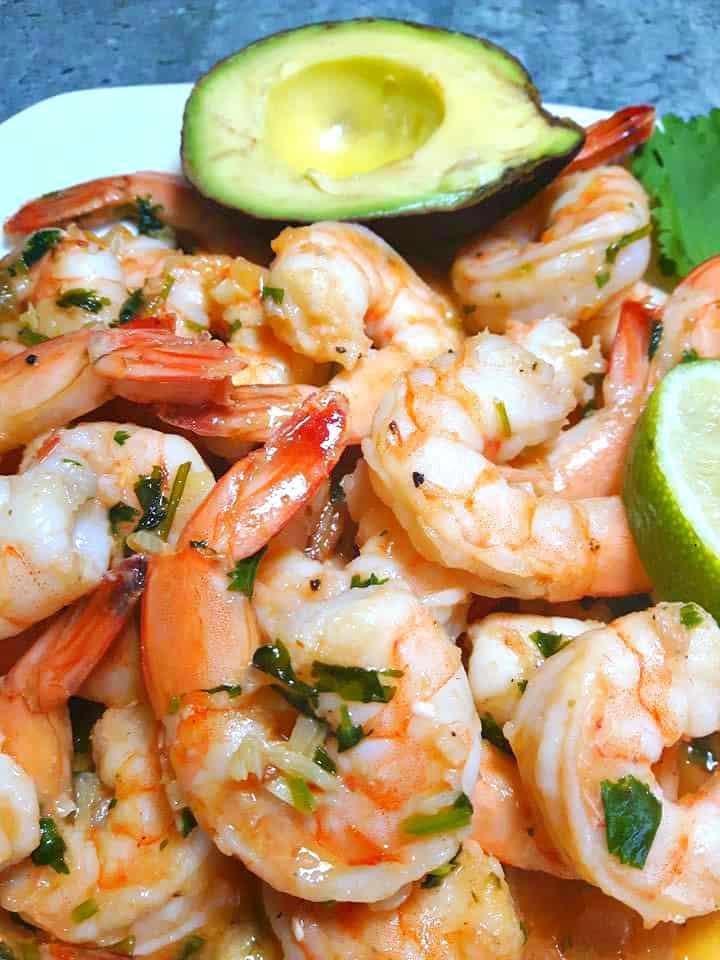 Garlic and Lime Shrimp