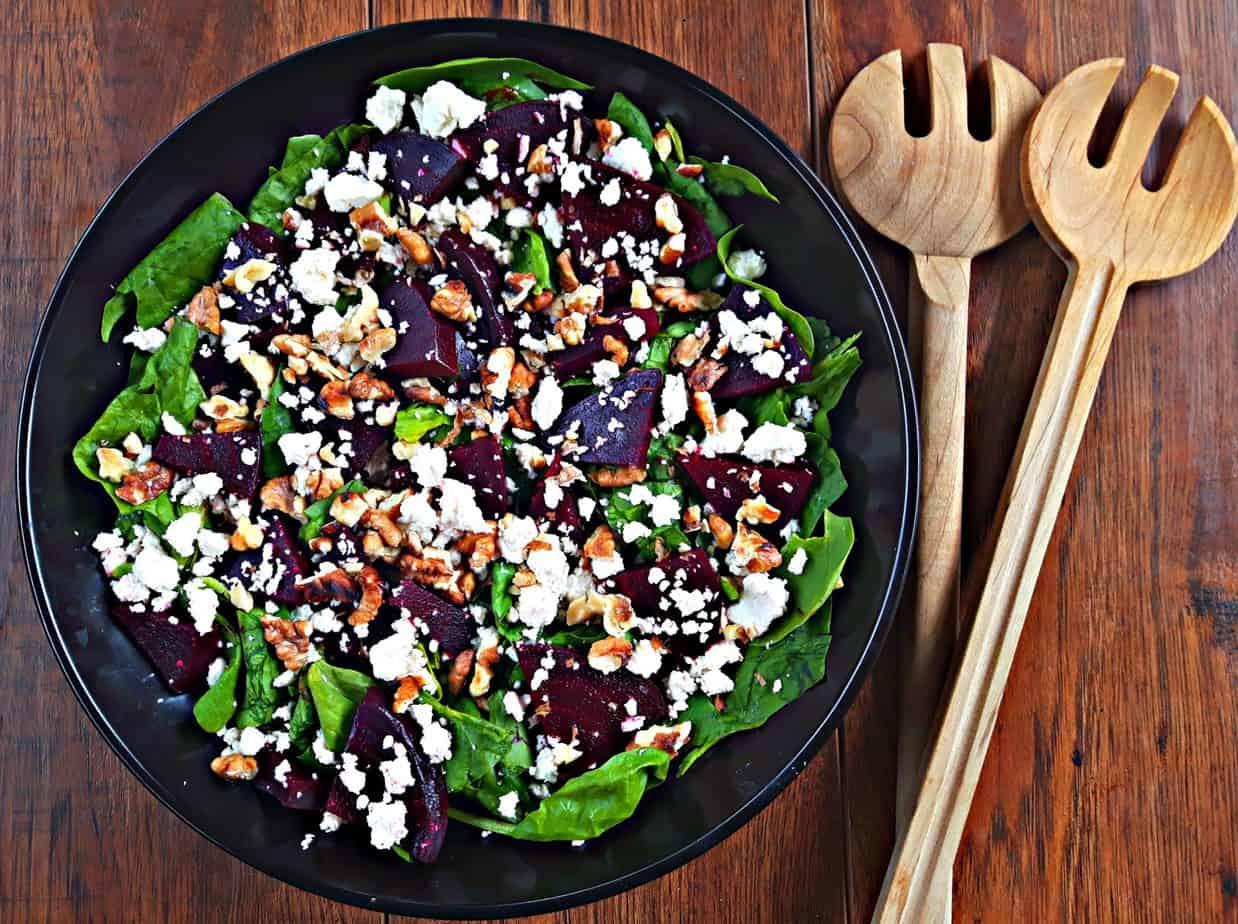beet feta salad