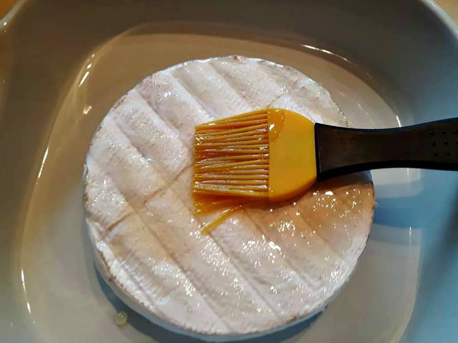 basting the Brie