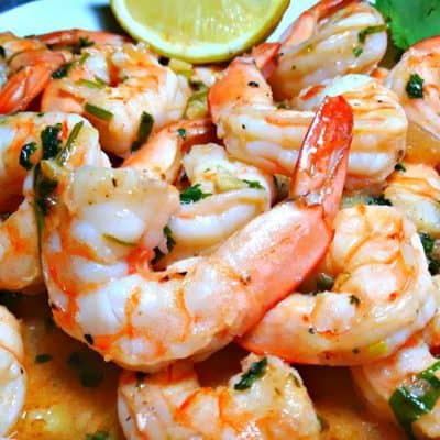 Garlic and Lime Shrimp