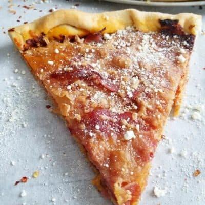 Prosciutto and Spicy Capocollo Pizza