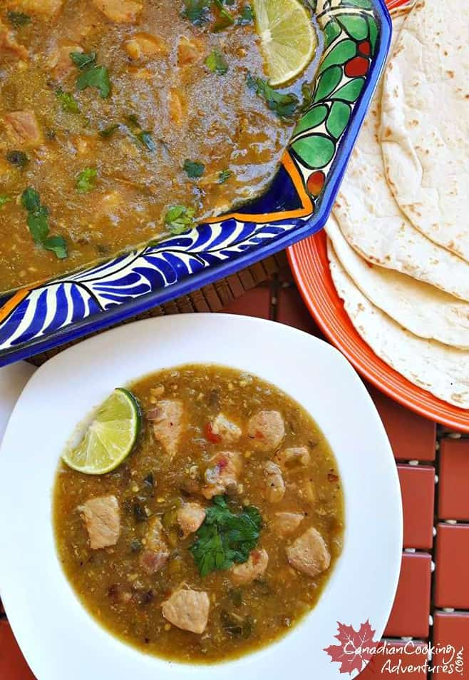 Green Pork Chili (Chili Verde)