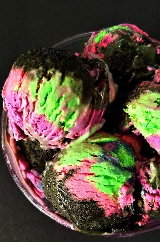 Northern Lights Ice Cream