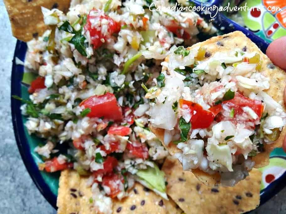 cabbage pico de gallo