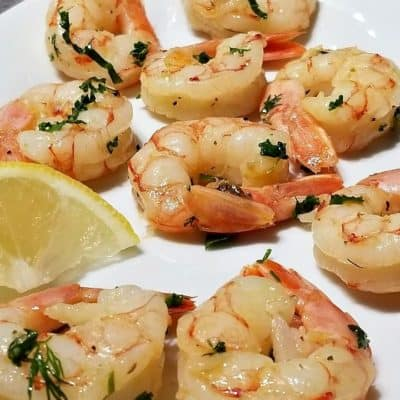 Garlic Lemon Butter Shrimp