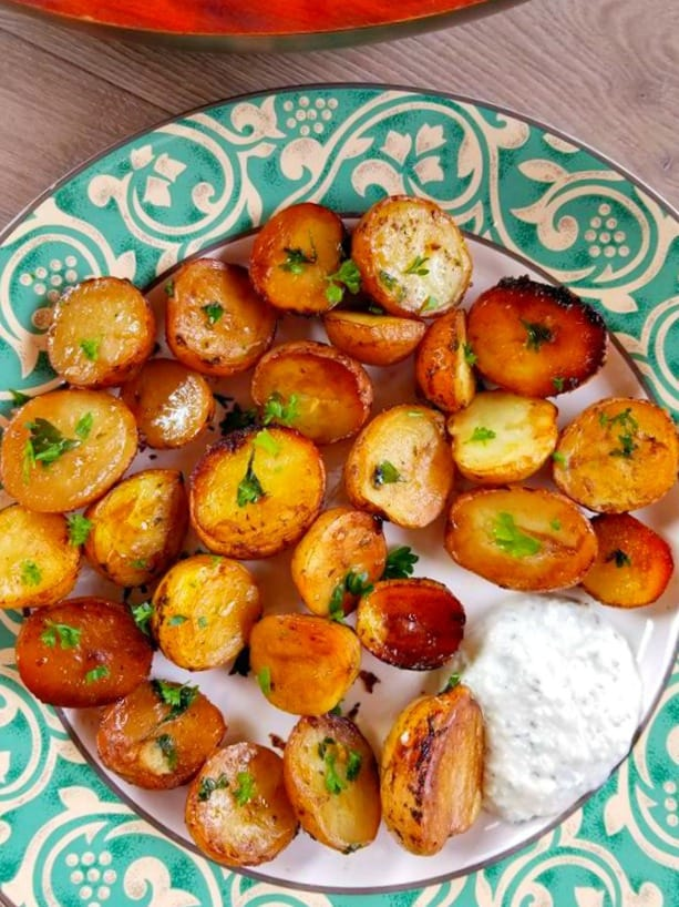 Baked Mini Potatoes