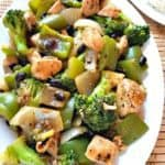Black Bean Chicken and Broccoli Stir Fry