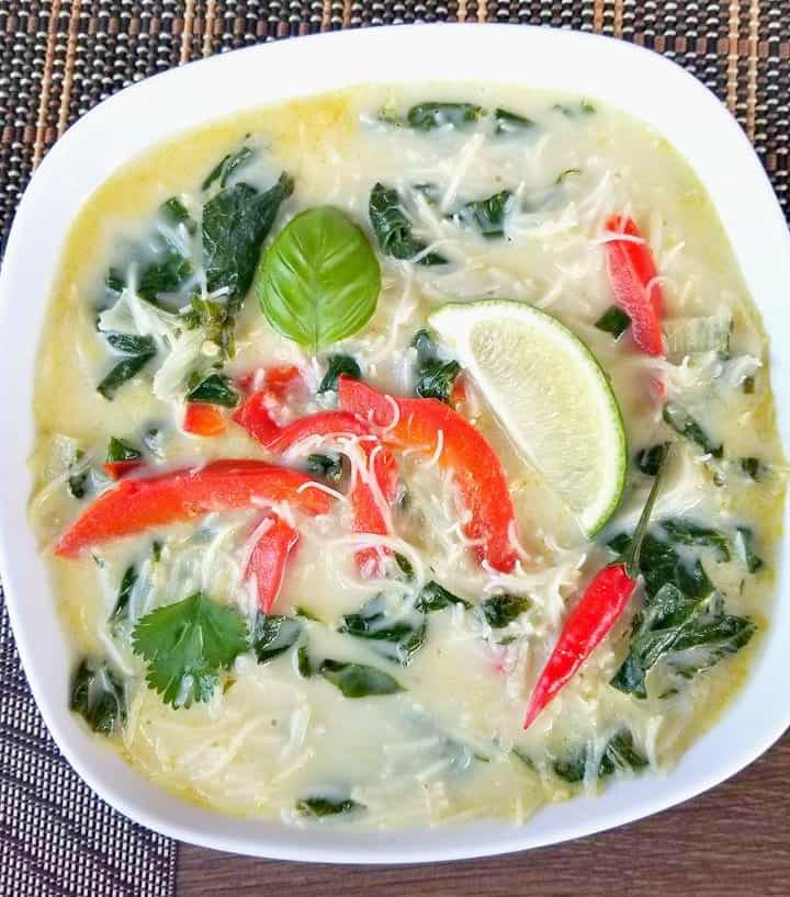 Vegan Thai Coconut Green Curry