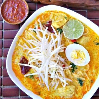singapore laksa soup