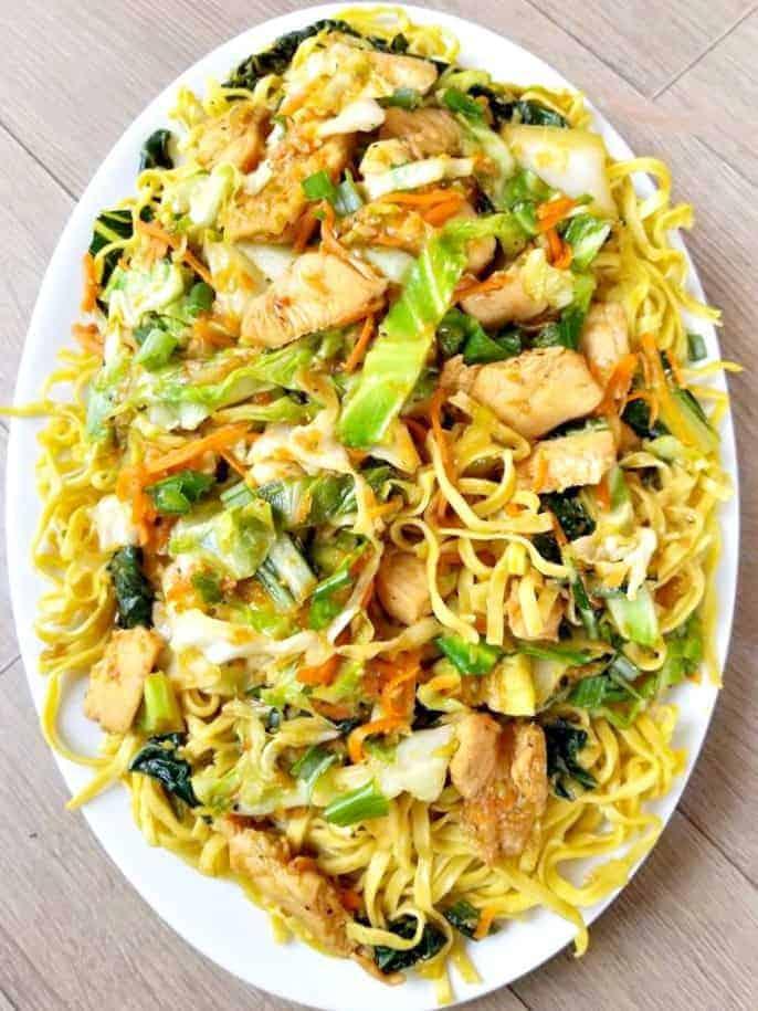 Authentic Chicken Chow Mein
