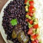Vegan Cuban Black Beans