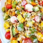 Corn on the Cob Salad