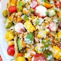 Mexican Corn on the Cob Salad
