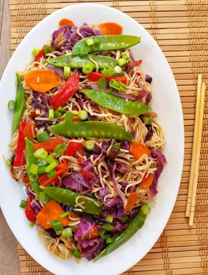 Vegetarian Lo Mein