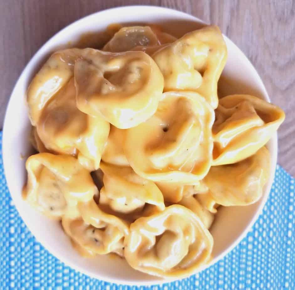 Macaroni and Cheese Tortellini