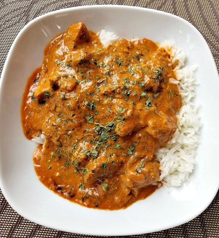 Creamy Coconut Chicken Curry