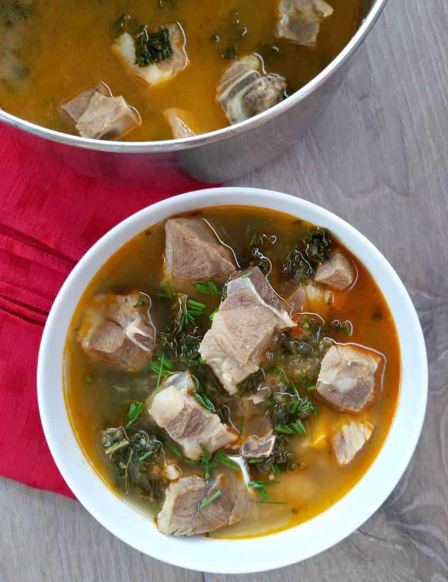 African Pepper Goat Soup