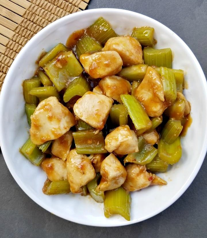 Ginger Chicken Stir Fry