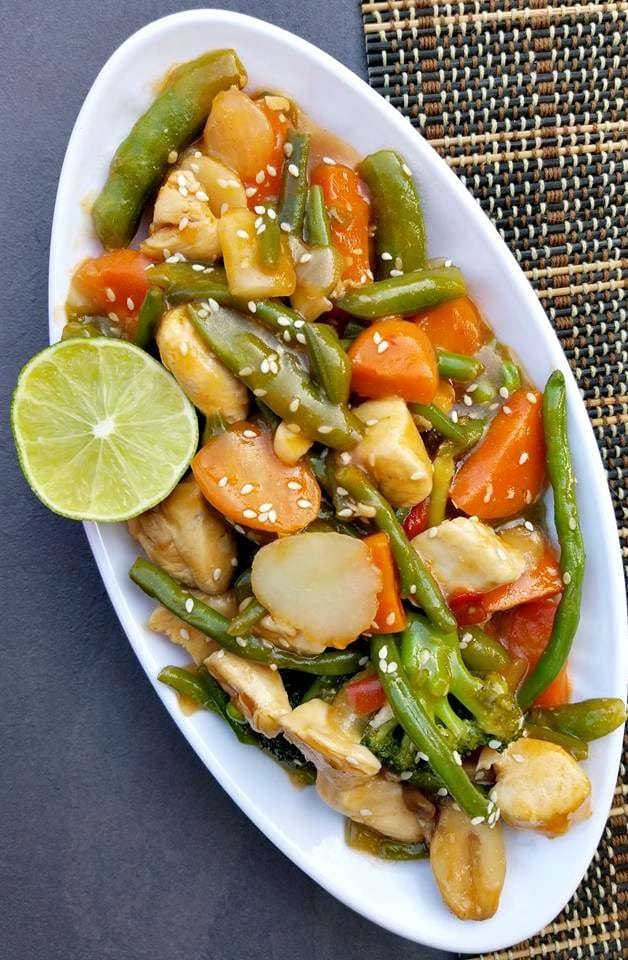 Honey Lime Chicken Stir Fry
