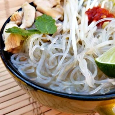 Quick Chicken Pho Soup