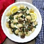 Savory Mushroom Kale Gnocchi
