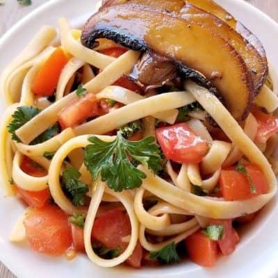 Balsamic Portobello Pasta