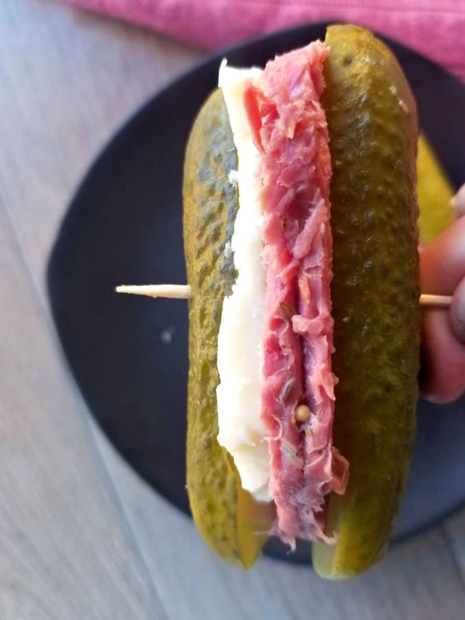 Reuben pickles