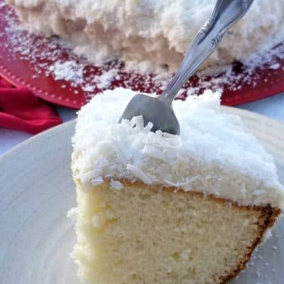 Winter Coconut Cake