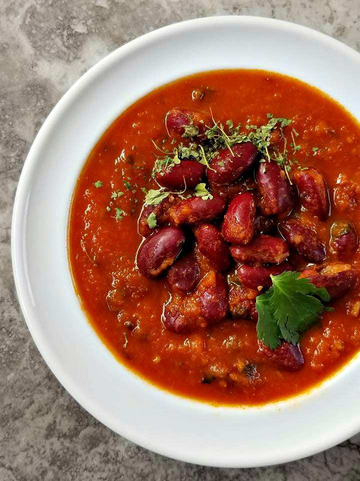 Easy Red Kidney Bean Curry