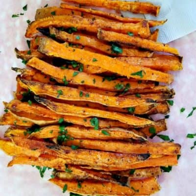 Air Fryer Cajun Sweet Potato Fries