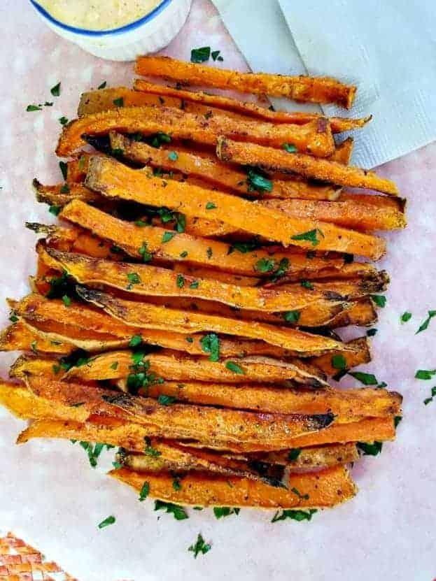 Air Fryer Cajun Sweet Potato Fries