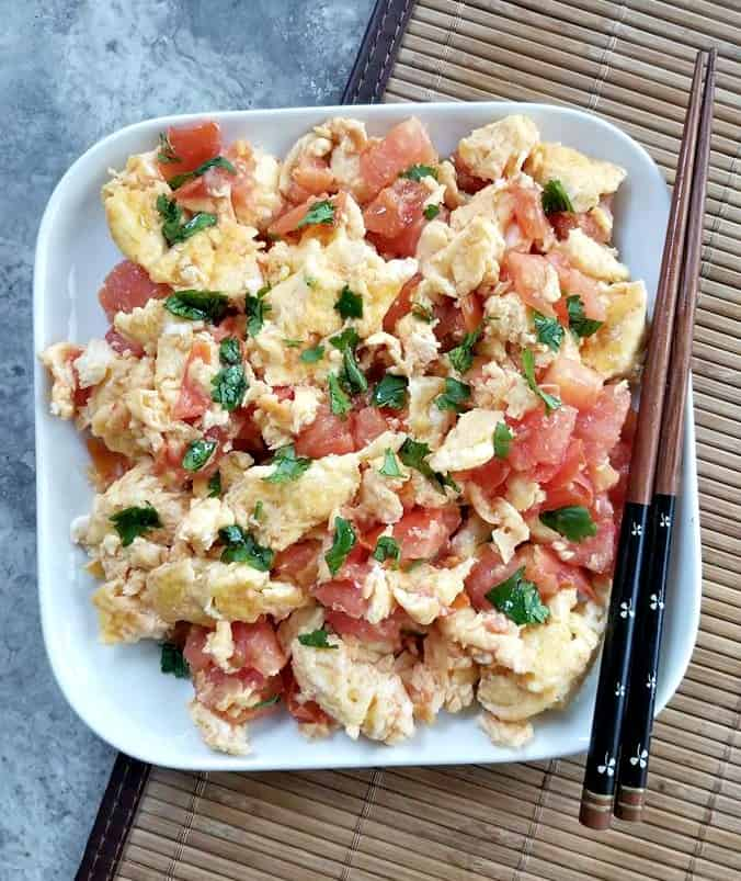 Chinese Eggs and Tomatoes
