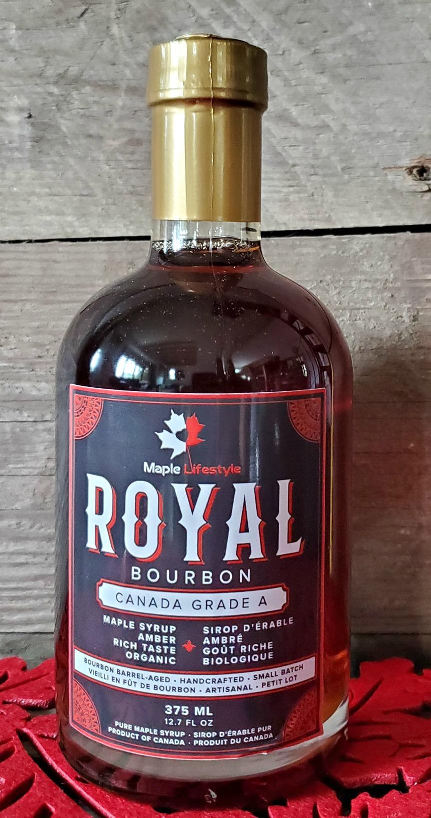 Royal Maple Lifestyles Bourbon Maple Syrup